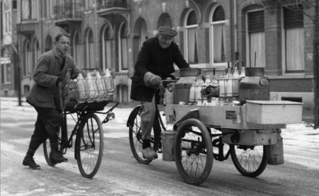 Winter Amsterdam 1950