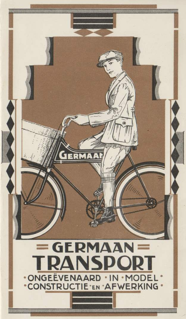 Brochure transportfiets Germaan