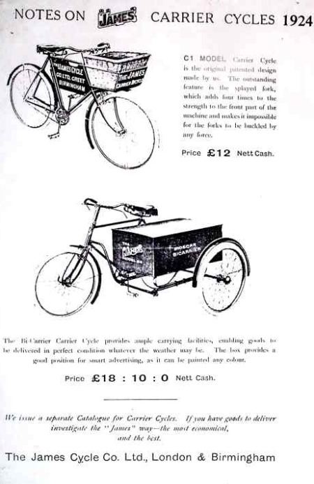 James Carrier Cycles