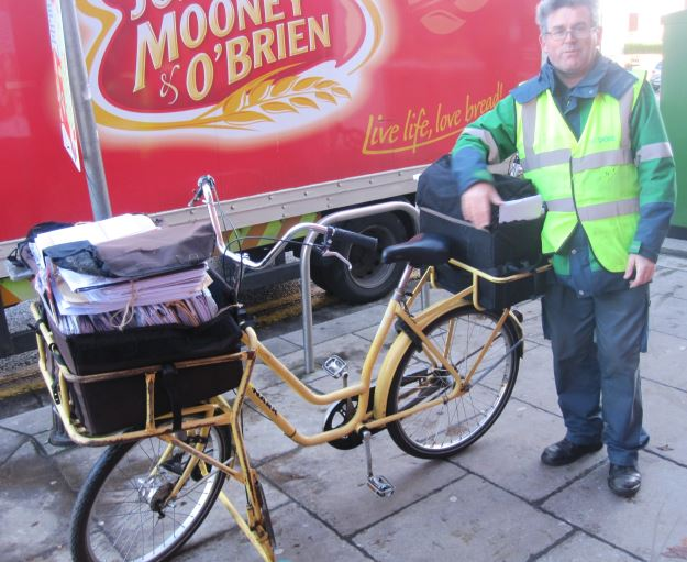 An Post delivery bicycle Ireland